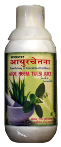 Picture of Ayurchetna Aloe Tulsi Juice